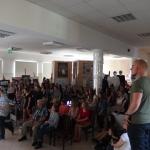 prezentacje uczestników stażu zawodowego w Zespole Szkół Plastycznych w Tarnowie